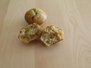 Muffins à la banane et aux raisins blonds