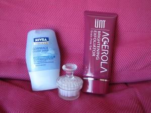 produits exfoliants visage