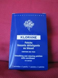 Patch pour les yeux - Klorane