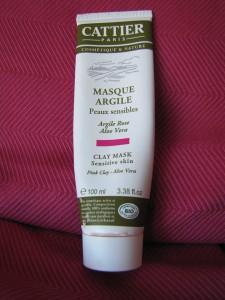 Masque à l'argile rose - Cattier