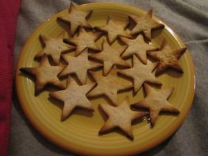 Sablés de Noël - étoiles