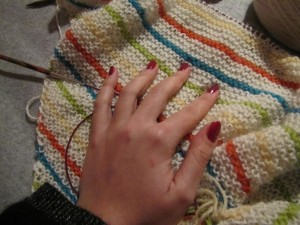 Ongles et tricot