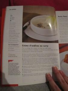 Recette de crème d'endives au curry