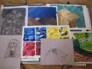 Peintures et dessins