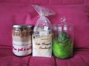 Cadeaux - kits gourmands et plante