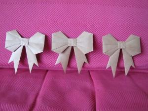 Noeuds en origami