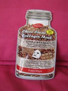 Purederm Choco cacao collagen mask