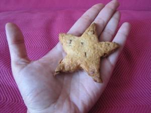 sablé étoile