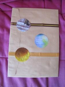 Paquet cadeau à l'arrache
