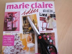 journée découpage magazine marie-claire idées ciseaux