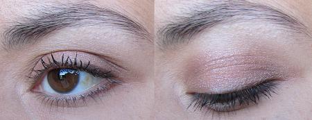 maquillage avec les fards crème Shiseido - cuivré et brun