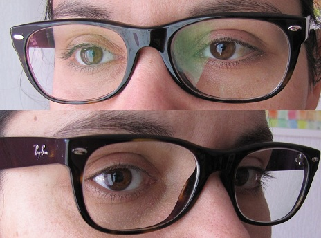 lunettes rayban wayfarer écaille foncée