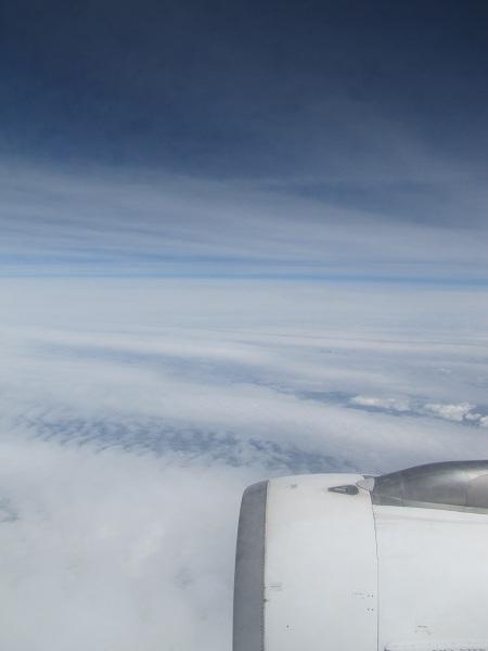 Les nuages, le bleu du ciel, tout ça...
