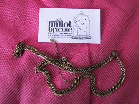 Headband chaînette - Mulot Bricole