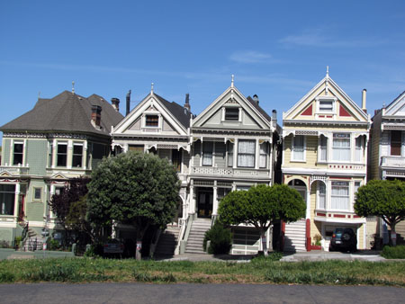 "Les fameuses ""Painted Ladies"""