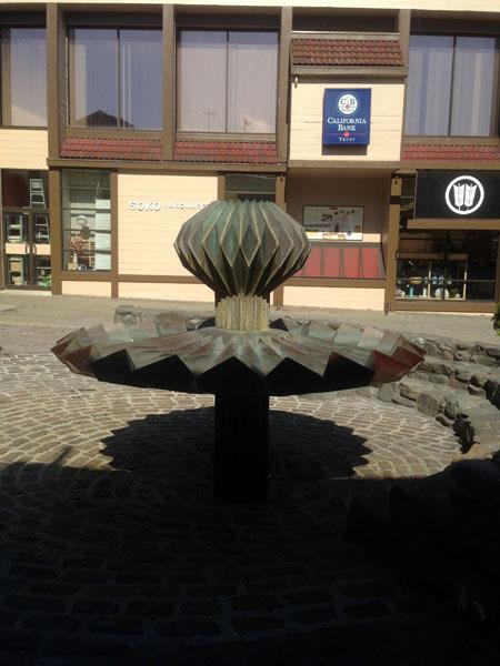 """Sculpture """"origami"""" - Ruth Asawa"""