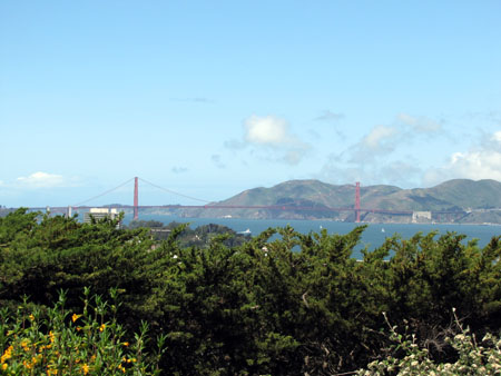 Hello Golden Gate Bridge !