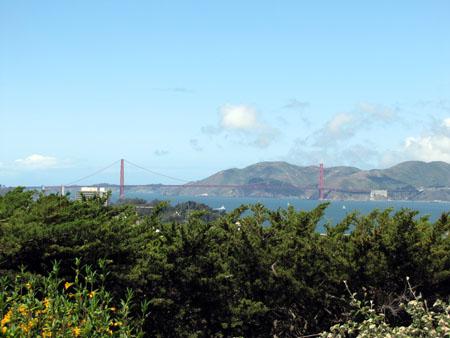 Hello Golden Gate Bridge !
