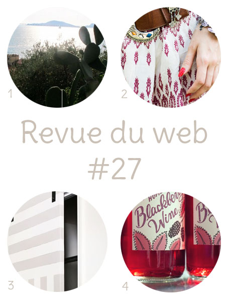 Sources des images : Complètement Flou, Pandora, A Beautiful Mess, Wit & Whistle
