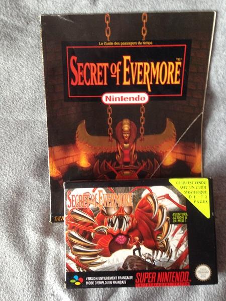 Secret of Evermore, un de mes jeux favoris sur SNES. Peut être LE favori d'ailleurs...