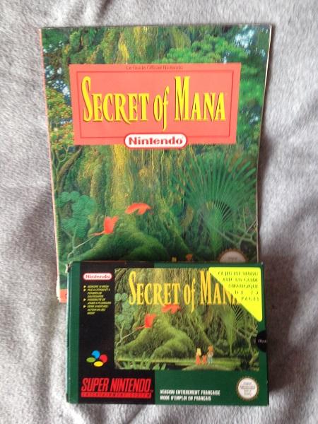 Autre favori de l'époque SNES, Secret of Mana, que j'ai fini avec mon frère il y a quelques années...