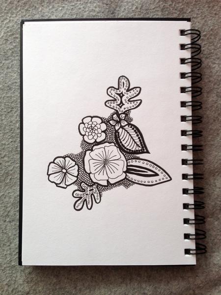 Mnemosune craft day 12 doodles 3