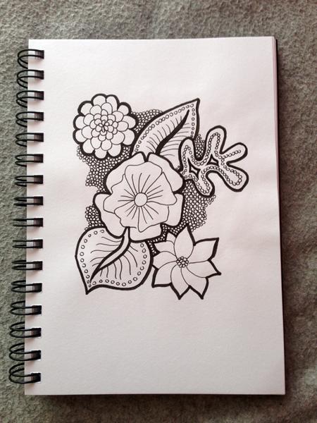 Mnemosune craft day 12 doodles 4