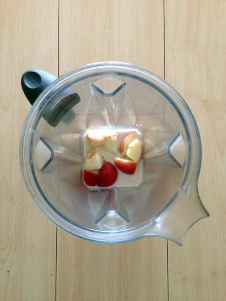 Mnemosune smoothie banane nectarine 2