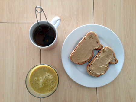 Mnemosune smoothie banane nectarine 3