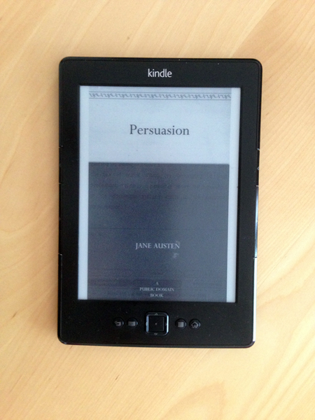 Persuasion kindle