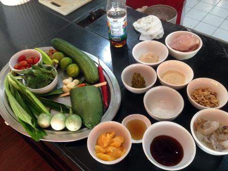 Cours de cuisine Krabi Thaïlande