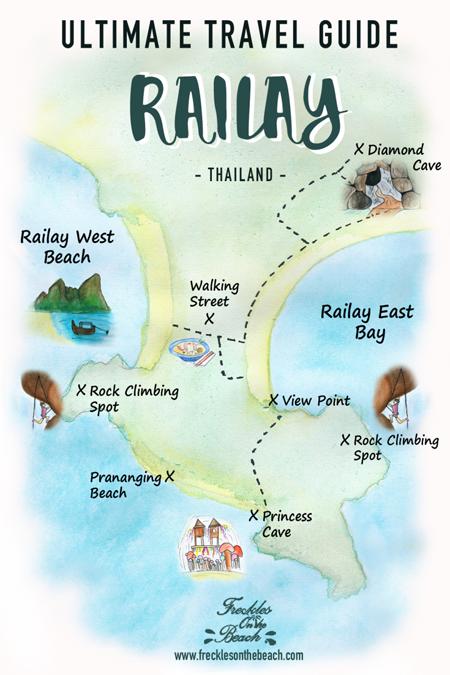 guide de voyage Railay Thaïlande