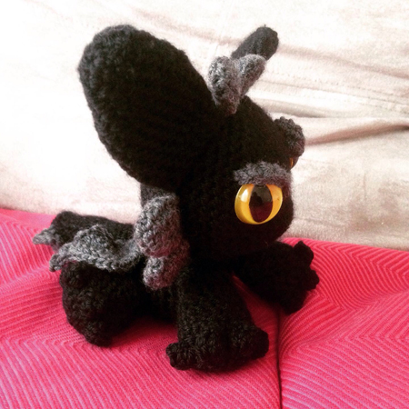 amigurumi dragon au crochet