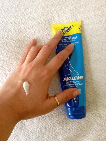 Baume hydra défense Akileïne texture produit
