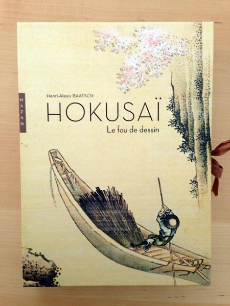 Hokusaï fou de dessin livre couverture devant