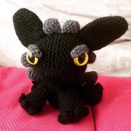 amigurumi dragon au crochet