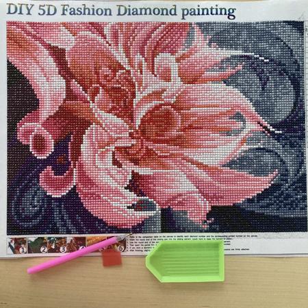 diamond painting zen fleur